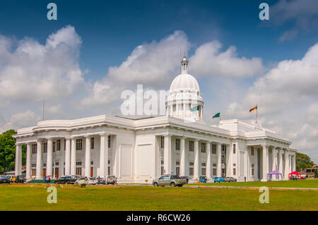 Colombo City Town Hall Building, The Headquarters Of Colombo Municipal Council And Other Municipal Offices In Colombo, Sri Lanka - Stock Photo