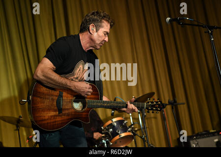 West Los Angeles, CA, USA. 4th Dec, 2018. 04 December 2018 - West Los Angeles, California - Dennis Quaid . Dennis Quaid and The Sharks Album Release Party and Performance held at The Village. Photo Credit: Birdie Thompson/AdMedia Credit: Birdie Thompson/AdMedia/ZUMA Wire/Alamy Live News - Stock Photo