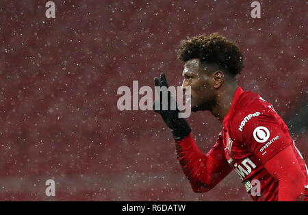 Moscow, Russia. 05th Dec, 2018. MOSCOW, RUSSIA - DECEMBER 5, 2018: Spartak Moscow's Ze Luis in 2018/2019 Russian Cup quarterfinal football match against Ural Yekaterinburg at Otkritie Arena. Stanislav Krasilnikov/TASS Credit: ITAR-TASS News Agency/Alamy Live News - Stock Photo