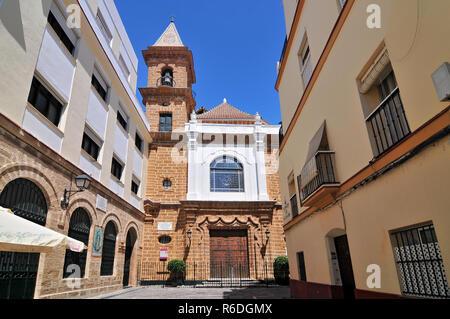 Church Of La Palma Cadiz Andalusia Spain - Stock Photo