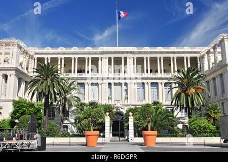 Palais Des Ducs De Savoie, Nice, French Riviera, Provence, France - Stock Photo