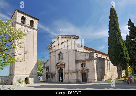 Croatia, Pula, The Cathedral Of The Assumption Of The Blessed Virgin Mary In Pula, Croatia - Stock Photo