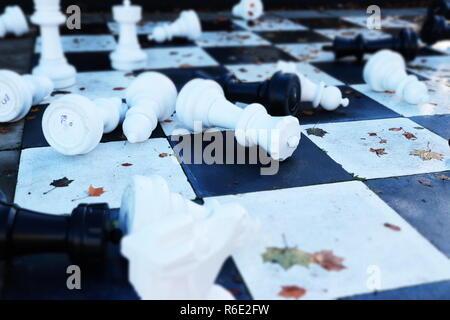 Chess Irony - Stock Photo