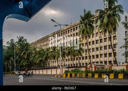 28 Sep 2017--HH Shree Mataji Nirmala Devi Marg, CBD Belapur, Navi Mumbai, Maharashtra 400614-INDIA asia - Stock Photo