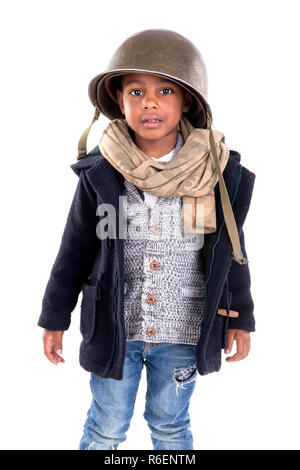Young soldier - Stock Photo