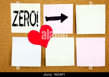 Conceptual hand writing text caption inspiration showing Zero concept for Zero Zeros Nought Tolerance and Love written on wooden background, reminder  background with copy space - Stock Photo