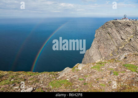North Cape in Mageroya island, Norway - Stock Photo