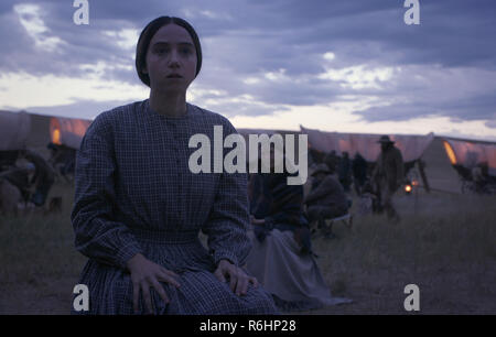 Prod DB © Netflix - Annapurna Pictures - Mike Zoss Productions / DR LA BALLADE DE BUSTER SCRUGGS THE BALLAD OF BUSTER SCRUGGS de Ethan Coen et Joel Coen 2018 USA segment 'The Gal Who Got Rattled' Zoe Kazan. western - Stock Photo