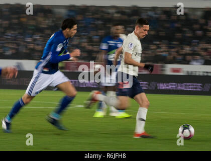 Draxler Julian during the French L1 football match between Strasbourg (RCSA) and PSG the Meinau Stadium in Strasbourg.