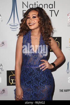 Los Angeles, Ca, USA. 5th Dec, 2018. Evvie, at The National Film and Television Awards at The Globe Theater in Los Angeles, California on December 5, 2018. Credit: Faye Sadou/Media Punch/Alamy Live News - Stock Photo