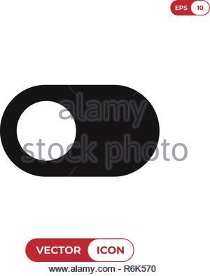 Switch vector icon - Stock Photo