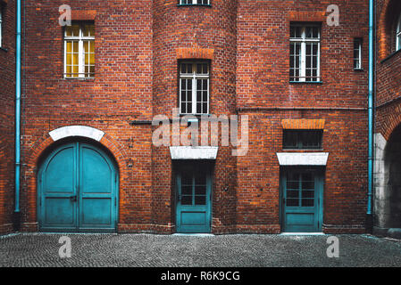 Choice between three different doors. Choosing the right way. Business concept of making decision - Stock Photo