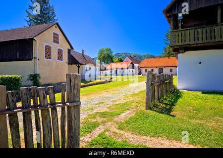 Kumrovec picturesque village in Zagorje region of Croatia - Stock Photo