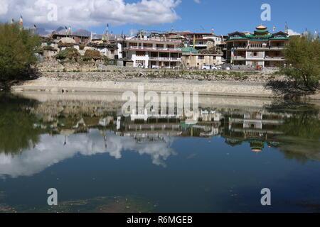 Nako, Kinnaur, Himachal Pradesh, India - Stock Photo