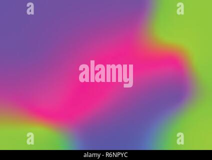 Abstract 2019 color trend UFO Green, Plastic pink, Proton purple. shades, gradient, Holographic foil background texture for design. - Stock Photo