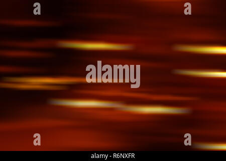 Bokeh background with lighting stripes. Motion blurred lights background. Abstract colorful defocused dots. Soft focus and soft lighting - Stock Photo