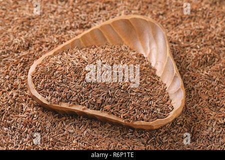 bowl of caraway seeds