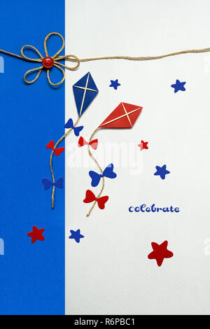 Happy 4th of july. - Stock Photo