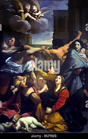 The massacre of the Innocents 1611 by Guido Reni 1575-1642 15-16th century, Italy, Italian. (  massacre of the innocents, narrated in the Gospel according to Matthew. ) - Stock Photo
