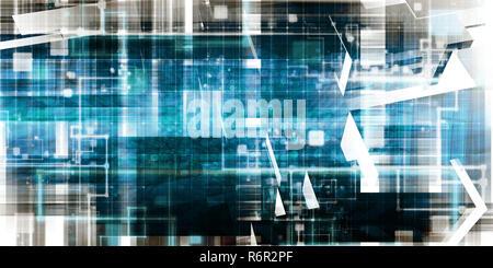 Futuristic Technology - Stock Photo