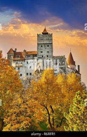Dracula Castle in Bran, Transylvania, Romania