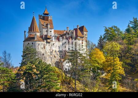 Romania - Dracula Castle in Bran, Transylvania