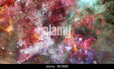 Background of the universe. Elements of this image furnished by NASA. - Stock Photo