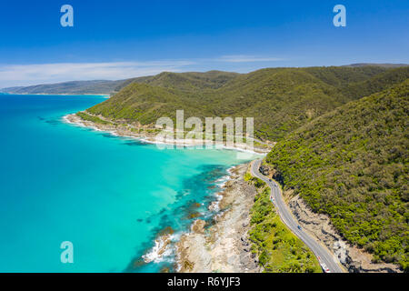 Great Ocean Road in Australia - Stock Photo