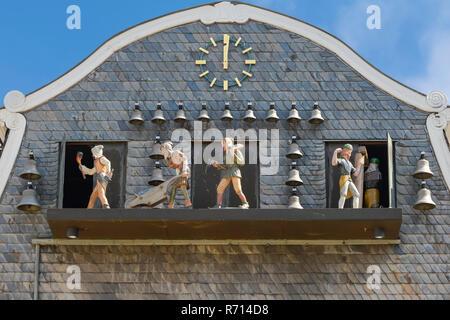 Carillon, UNESCO World Heritage Site, Goslar, Harz, Lower Saxony, Germany - Stock Photo