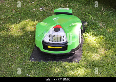 Robot Mower - Stock Photo