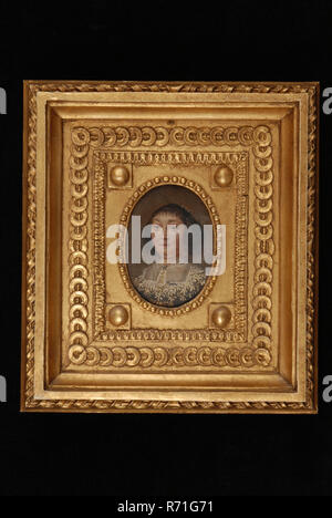 Gold Leaf Oil Painting Frame 100 To 200 Years Old Dropped