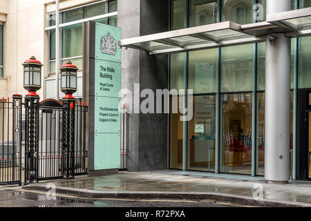 The Rolls Building in London - Stock Photo