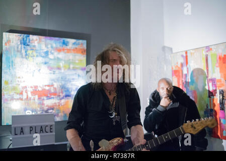 Showcase Thierry Cojan at the Place Art Parfum in Paris France - Stock Photo