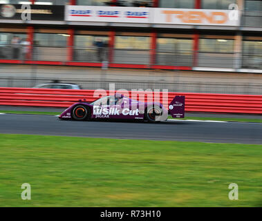 Christophe D'Ansembourg, Jaguar XJR14, Group C, Silverstone Classic 2016, 60's cars, Chris McEvoy, cjm-photography, Classic Racing Cars, historic raci - Stock Photo