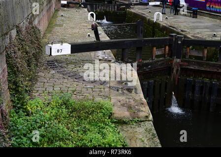 Canal Lock - Stock Photo