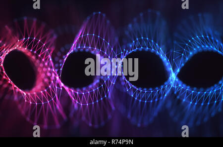Genetic Code Abstract Concept - Stock Photo