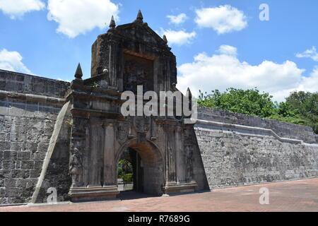Intramuros Manila Philippines - Stock Photo