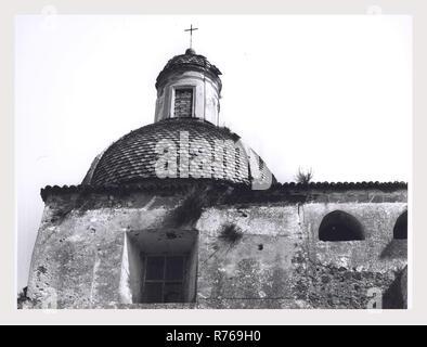 Campania Caserta Sessa Aurunca unidentified church, this is my Italy, the italian country of visual history, Exterior views - Stock Photo