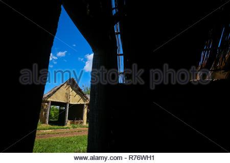 Sopot houses in Vinkovci - Stock Photo
