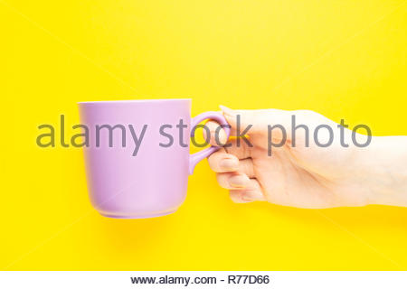 Have a cup of coffee. - Stock Photo