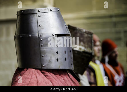 Medieval armor glove - Stock Photo