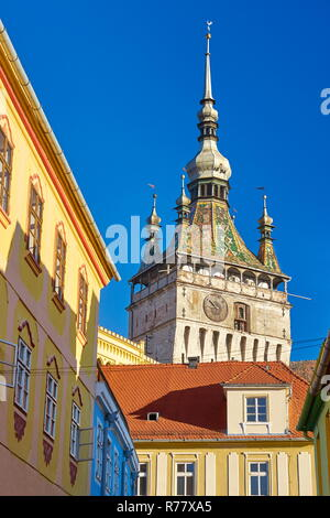 Sighisoara old town, Transylvania, Romania