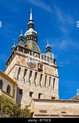 Sighisoara clock tower, Transylvania, Romania