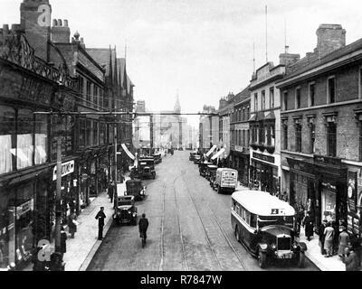 Station Street, Burton on Trent - Stock Photo