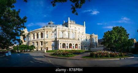 Odessa Opera and Ballet House - Stock Photo