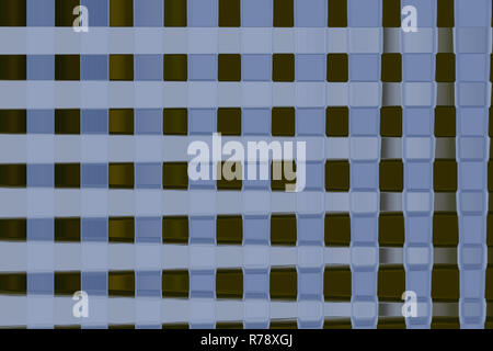 abstract varicolored blurred background from squares on white - Stock Photo