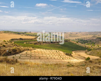Viana in the far distance - Stock Photo