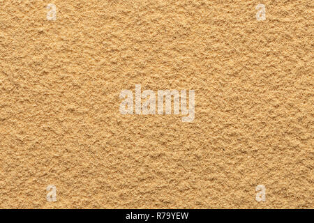Ginger powder ground full frame image background, view directly from above, very smooth surface - Stock Photo