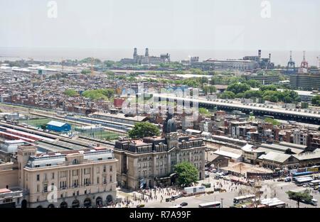 Retiro railway station, Buenos Aires, Argentina - Stock Photo