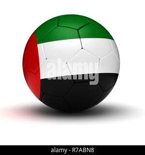 United Arab Emirates Football - Stock Photo